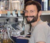 Edward Geisinger in a lab