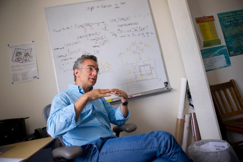 Mathematics Professor Toledano Laredo Awarded Three-Year NSF Grant