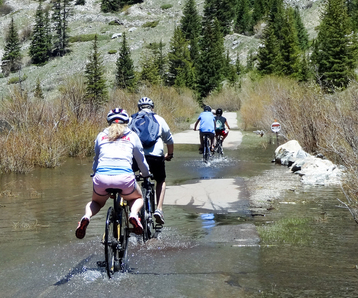 For $49 (save 20% if you fill out the online inquiry/rez form), the friendly folks at bike valet will drive. Vail Pass From Frisco Through Copper Mountain
