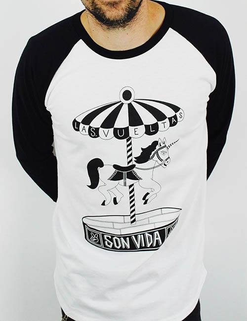 "Camiseta-Unisex-""Las-vueltas-son-vida"""