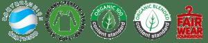Solo utilizamos telas 100% orgánicas certificadas
