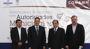 El presidente municipal Juan Antonio Martín del Campo.