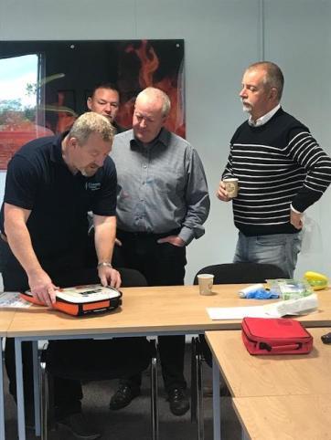 AED Defib Training Northern Ireland