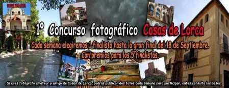 PRIMER CONCURSO DE FOTOGRAFIA AMATEUR COSAS DE LORCA