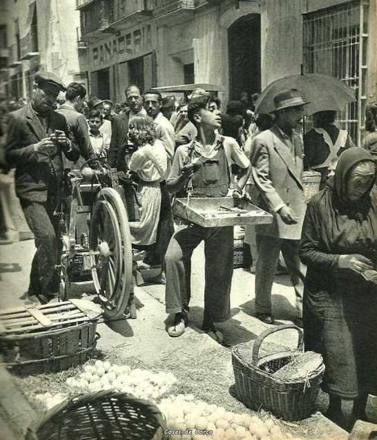 el-mercado-calle-del-alamo-lorcamurcia1953-fuente-espagne-du-sud