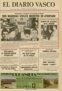 ASESINADO POR ETA EL GUARDIA CIVIL DE LORCA LORENZO SOTO