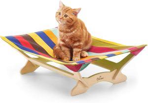 Hamaca para gatos CATONEER (Genial diseño y fácil limpieza) 1