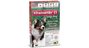 K9 Advantix II control de pulgas (Análisis) 2
