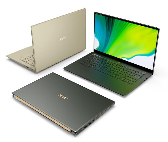 Distintas perspectivas de la Acer Swift 5