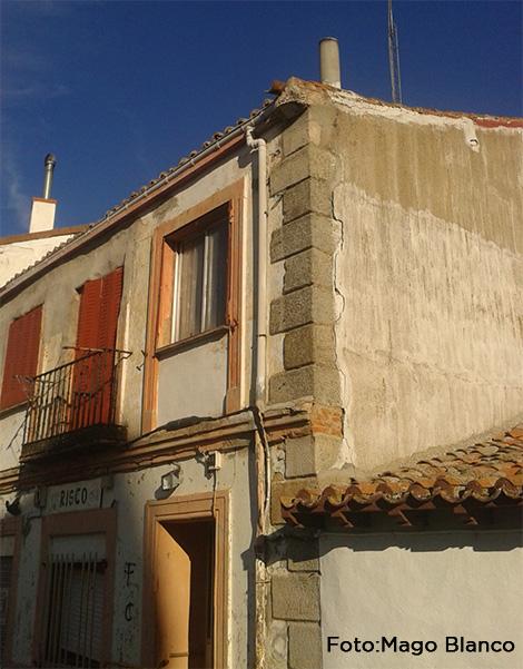 Vista de la fachada.