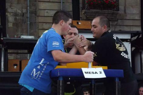 Sergio contra Manuel Rubio, multiple campeon internacional