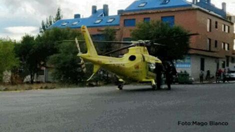 Imagen de archivo del helicóptero