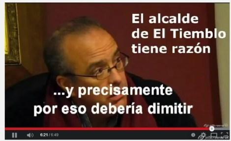 Alcalde de El Tiemblo, Rubén Rodríguez