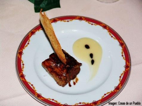 Montecarlo matanza, Costillas de cerdo napada con salsa de manzana