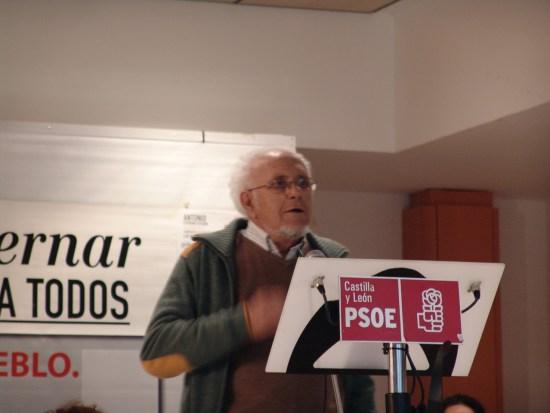 Raúl Martín Sanchez  durante su intervención