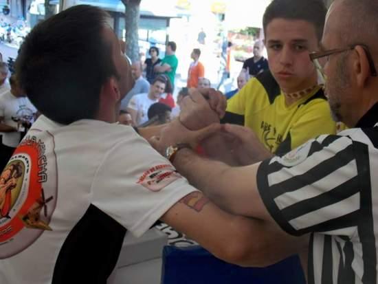 Final senior 55kg. Victor vs Miguel Atienzar de Albacete, donde Víctor se alzaría Campeón de España