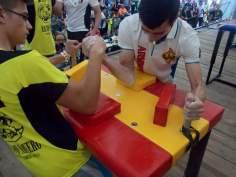 Gabriel Negru venciendo a Alan Sierra. Senior 60kg derecha