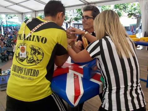 Marino Morales vs Juan Miras en Master 70kg