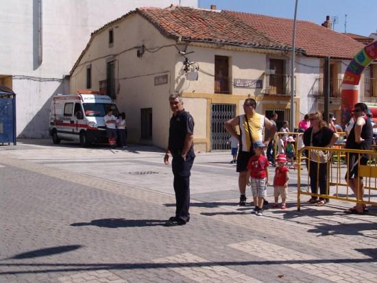 Supervisados por los alguaciles y policía municipal en todo momento