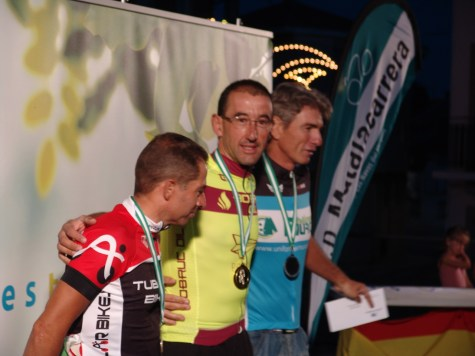 VETERANOS-1º Carlos Segovia;2º Germán Pindado;3ºFernando Grande