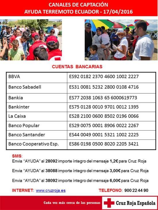 Ayuda Terremoto Ecuador 2016
