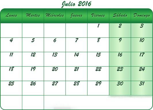 Para imprimir el calendario para su uso personal