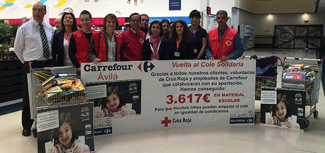 Vuelta al Cole Solidaria Carrefour 2015