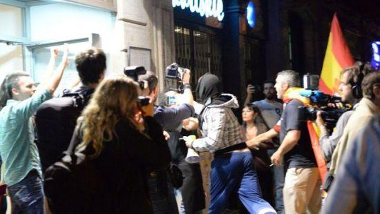 Imagen de la agresión contra un vecino SANDRA LÁZARO