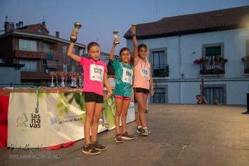 NIÑAS DE 7 Y 8 AÑOS: 1ª 122 Alba Yanez, 2ª 194 Luna Esteban, 3ª 73 Andrea Marco1ª