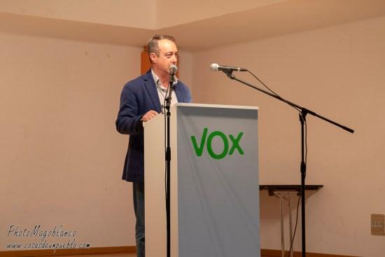José Antonio Sánchez Pérez, Vicesecretario de Formación VOX Ávila