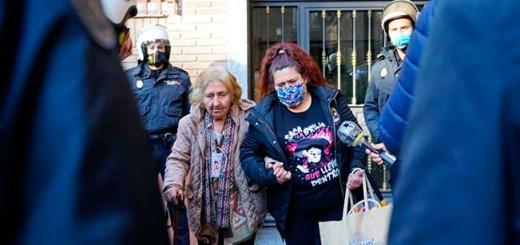 Maite y su madre, desahuciadas en Fuenlabrada