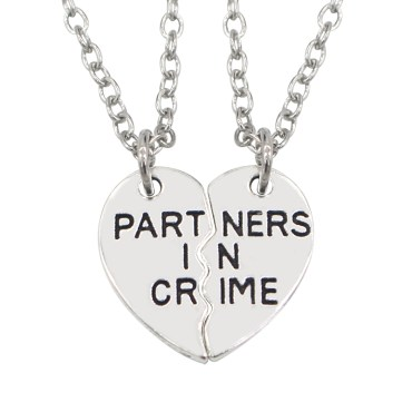 2017-Carved-font-b-Partner-b-font-In-font-b-Crime-b-font-Choker-Necklace-2pc