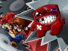 Mario vs Meat Boy