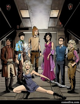 Firefly + The Big Bang Theory
