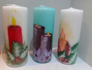 Vistas velas de Navidad, 1