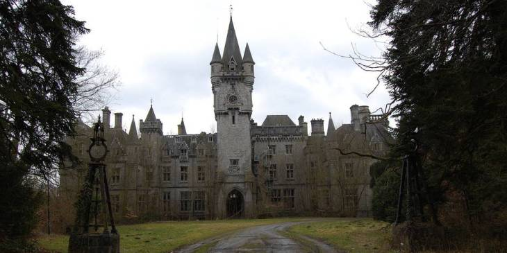 El aterrador Castillo de Miranda