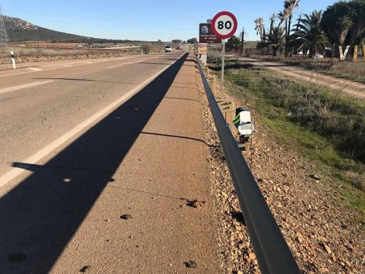 Los nuevos radares móviles en la carretera