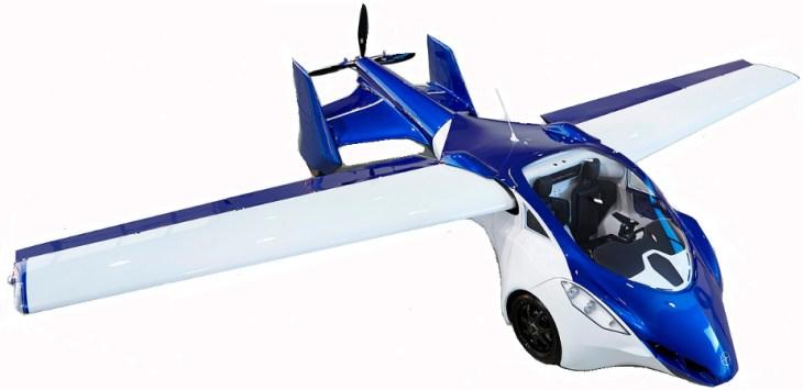 Coche Volador AeroMobil 3.0