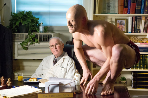 """LOUIE: Season 5, Episode 5 """"Untitled"""" -- Pictured: Charles Grodin as Dr. Bigelow. CR: KC Bailey/FX"""