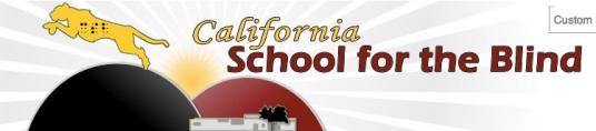 Logo for California School for the Blind