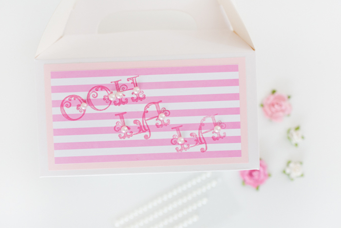 Delightful Ooh La La Party Favor Boxes by Alli Roth Step 6