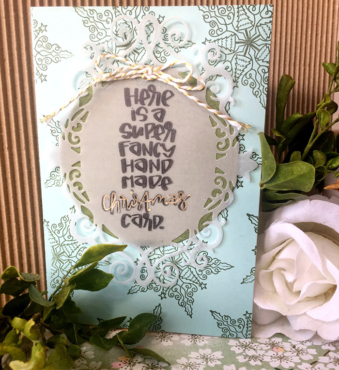 Inspirational Series of Holiday Cards + Tags with Stephanie Low Designs Image 3