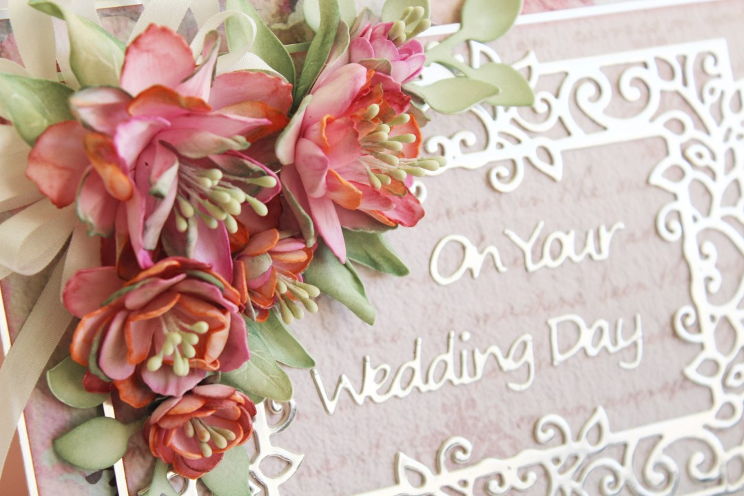 On Your Wedding Day Card: Timeless Heart Collection by Marisa Job: Step 13.2