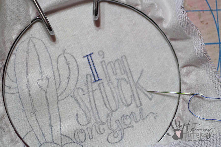 Easy Steps to Use Stamps in Embroidery: Step 5