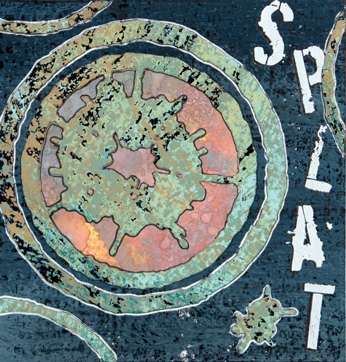 New Collection Release Preview with Seth Apter S4-813 Splat Etched Dies Artwork