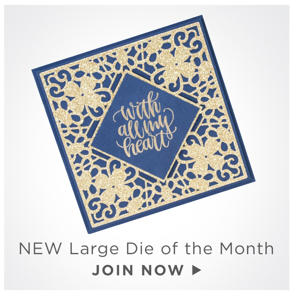 Classic Lace September Large Die of the Month | Join Now