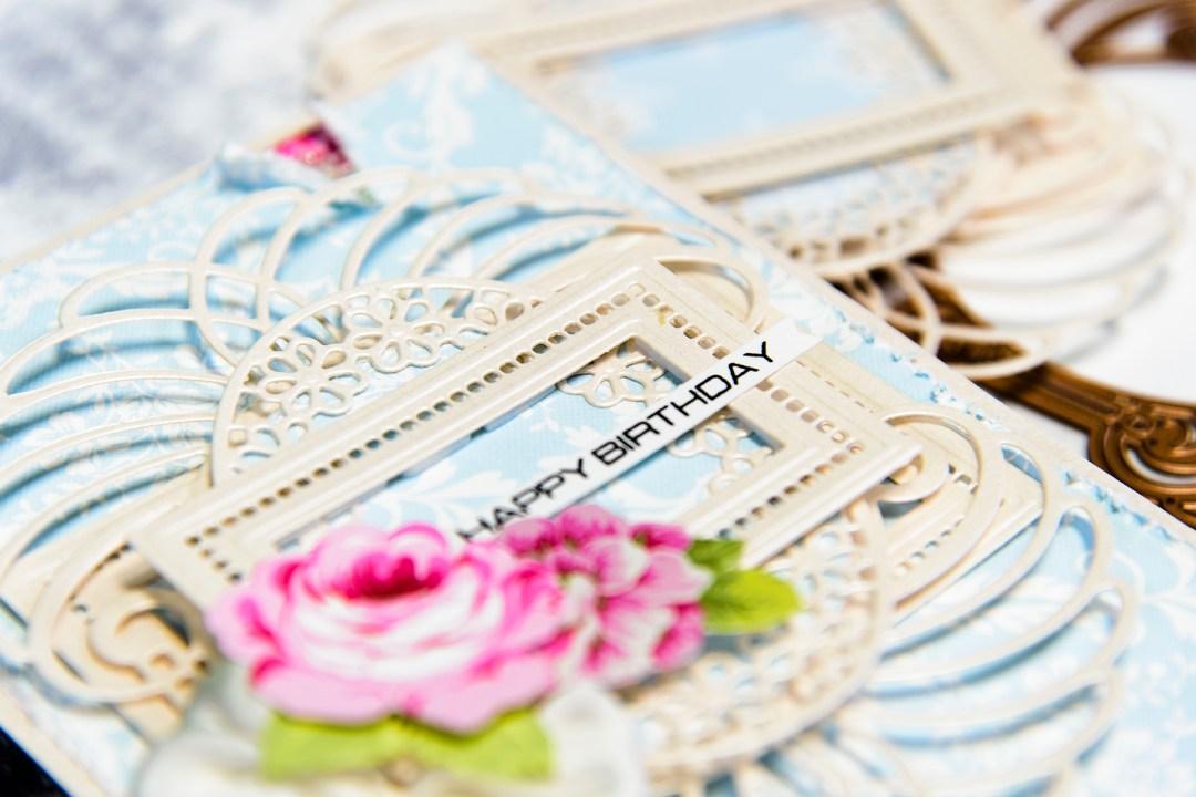 Layered Dimensional Die Cutting Series Episode 1 Birthday Card – 1 Birthday Card