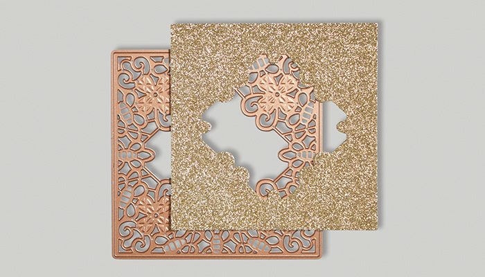 Classic Lace September Large Die of the Month | Be Kind Card Step 3