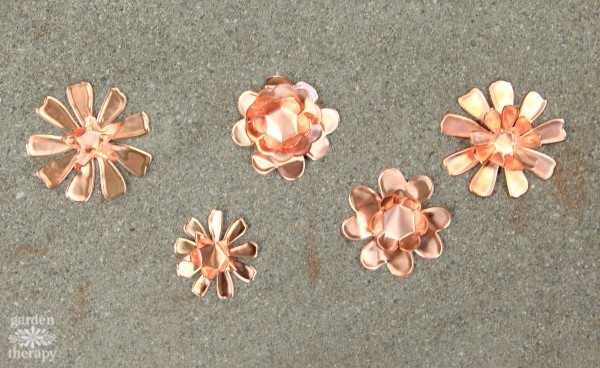 These Copper Garden Art Flowers Will Never Stop Blooming