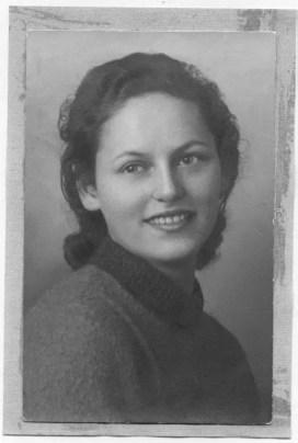 Mia madre dopo la mia nascita